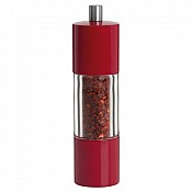 Chilli Mill Ø4,5cm/height18,5cm Plastic red - 1pc.