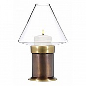 MYSTICA Table lamp Metal, burnished brass finish - 1pc. 1