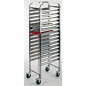 Trolley GN1/1 55x38,5cm/Höhe173,5cm Stainless - 1pc. 1