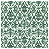 VERA ORNAMENTIK Napkins XL 48x48cm AIRLAID green - 600pcs.