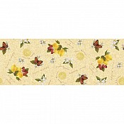 LEMON Table Runners 33,3cmx24lfm AIRLAID - 4pcs.