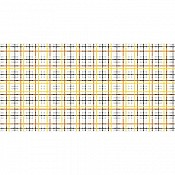 RICK Table Runners 40cmx24lfm AIRLAID checkered - 4pcs.