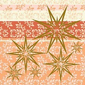 CHRISTA X-Mas Napkins 40x40cm AIRLAID terracotta - 600pcs.