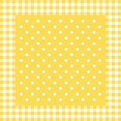 ANTON Table Cloths 80x80cm Linclass-AIRLAID yellow - 50pcs.