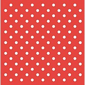 ANTON Table Coths 80x80cm PEARL COATING red - 50pcs.