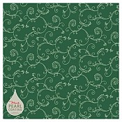 GALA Table cloths 80x80cm PEARL COATING green - 45pcs.