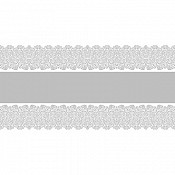 FIONA Table Runners 40cmx24m 70g AIRLAID silver - 4pcs.