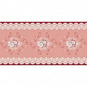 FRANZISKA Table Runners 40cmx24lfm AIRLAID bordeaux - 4pcs.