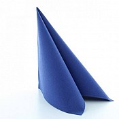 BASICS Napkins ROYALBLUE 40x40cm 1/4fold LINCLASS - 300pcs. 1