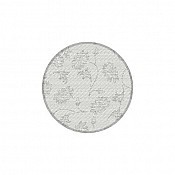 LISBOA Coasters Ø90mm 9-ply TISSUE grey - 1000pcs. 1