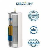 KERZOLIN 03 Candle - BurningTime ~85h Ø5,8cm/h10cm - 48pcs. 2