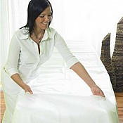 MASSAGETABLE COVER 80x200cm 50g/m² MANKULTRA white - 50pcs. 2