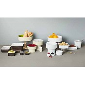 Bowl UNIVERSAL ∅16cm/height12cm MELAMIN white - 1pc. 2