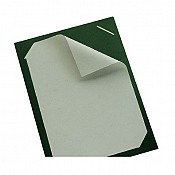MenuCard Carton laminate A4short 24x24cm STECK-CARD - 1pc. 1