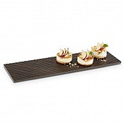 GN Tray TILES GN2/4 height1,5cm MELAMIN black - 1pc. 1