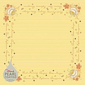 Table Cloths SUNNY NEW DAY 80x80cm PEARL COATING - 45pcs. 1