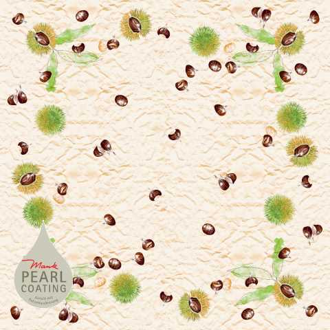Autumn Table Cloths TOBI 80x80cm PEARL COATING - 45pcs.