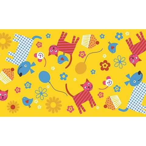 HAPPY KIDS Table Runners 40cmx24lfm LINCLASS-Airlaid - 4pcs.