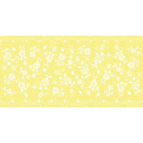 Table Runners LACE 40cmx24lfm LINCLASS-Airlaid yellow - 4pcs.