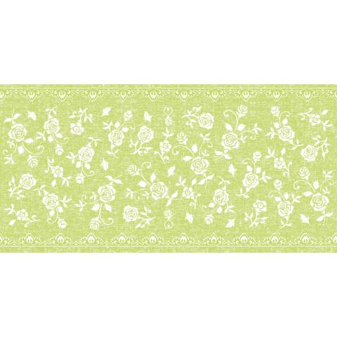 Table Runners LACE 40cmx24lfm LINCLASS-Airlaid lime - 4pcs.