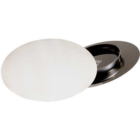 Cake Stand incl. Cover Ø31cm/height3cm Stainless Steel - 1pc.