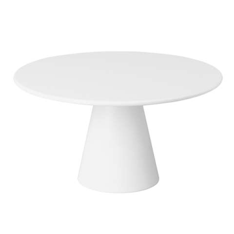 Cake Plate CASUAL Ø31cm/height16cm MELAMIN white - 1pc.