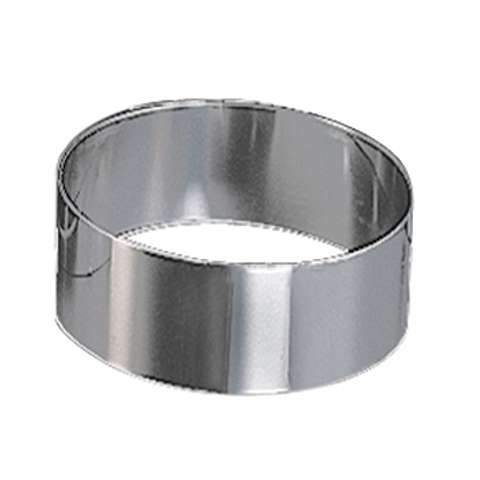 Cake Setting Ring adjustable Ø16,5-32cm/height7cm Stainless Stee