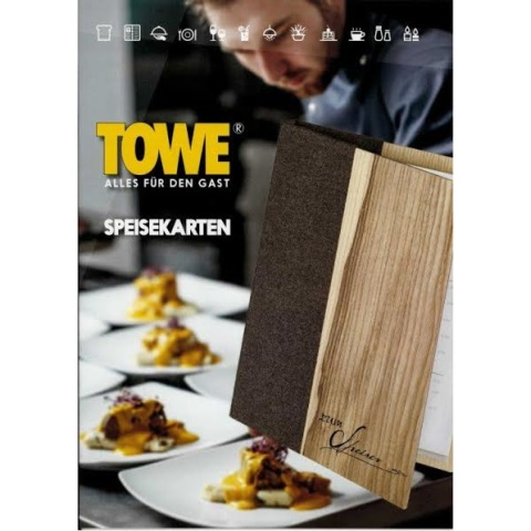 Catalog 2018 TOWE MenuCards/Boards - 1pc.