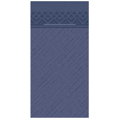 BASICS PocketNapkins 40x40cm 1/8fold DELUXE blue - 300pcs.