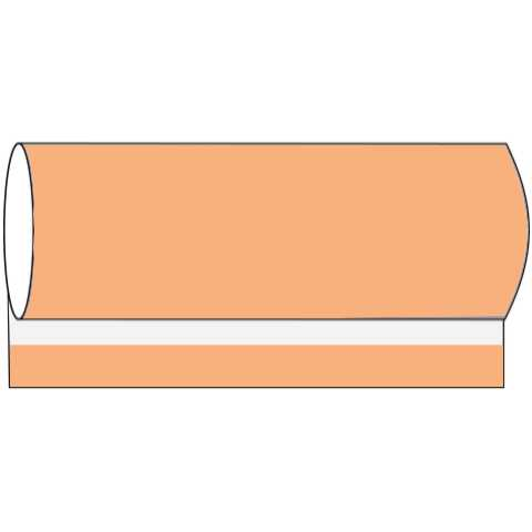 BASICS BanquetReels 120cmx40m LINCLASS-Airlaid apricot - 1pc.