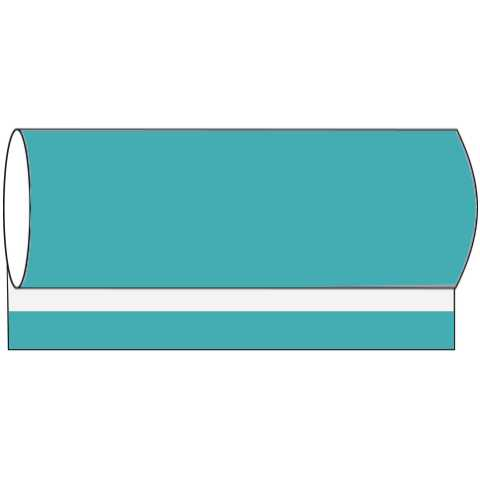 BASICS BanquetReels 120cmx40m LINCLASS-Airlaid aquablue - 1pc.