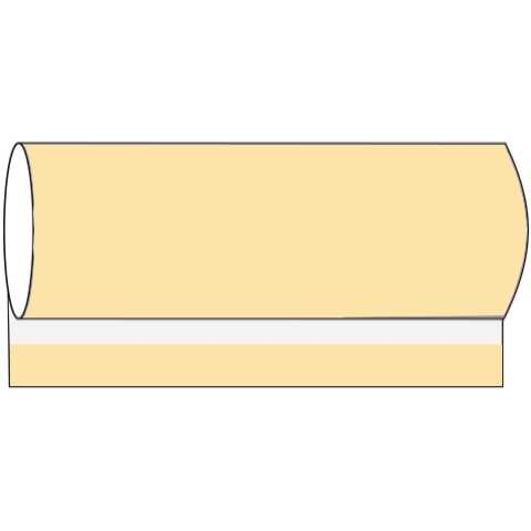 BASICS BanquetReels 120cmx40m LINCLASS-Airlaid ivory - 1pc.