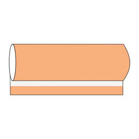 BASICS BanquetReels 80cmx40m LINCLASS-Airlaid apricot- 1pc.