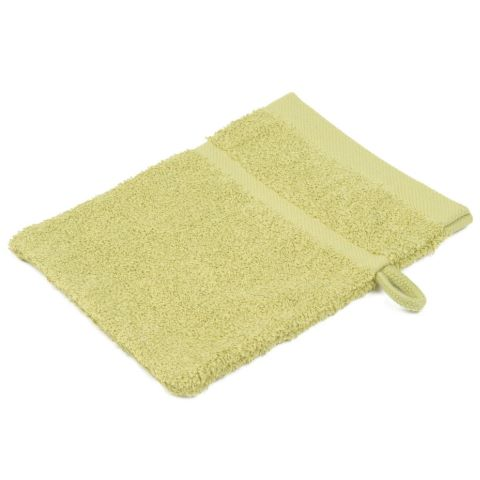 Wash Glove SYLT Towels 16x21cm COTTON lemon - 12pcs.