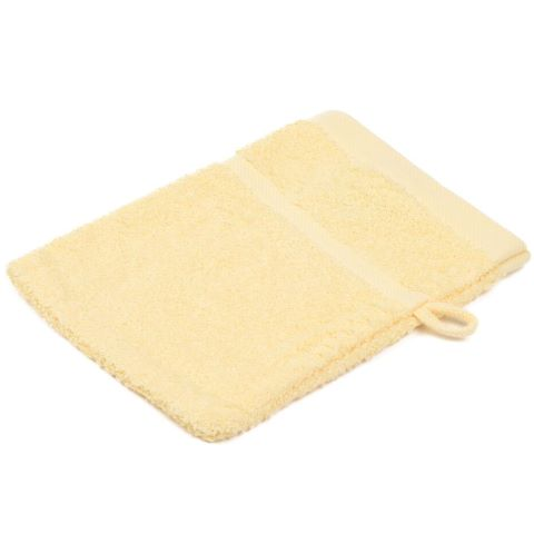 Wash Glove SYLT Towels 16x21cm COTTON vanille - 12pcs.