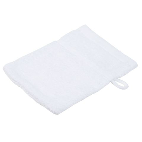 Wash Glove SYLT Towels 16x21cm COTTON white - 12pcs.
